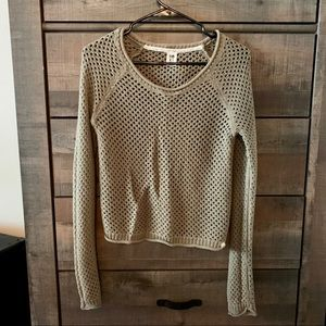 Roxy olive green sweater
